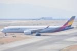 木のピー乃木坂46&DAPUMP好きさんが、関西国際空港で撮影したアシアナ航空 A350-941XWBの航空フォト(写真)