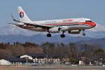Cスマイルさんが、花巻空港で撮影した中国東方航空 A320-232の航空フォト(写真)