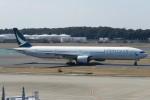 SFJ_capさんが、成田国際空港で撮影したキャセイパシフィック航空 777-367の航空フォト(写真)