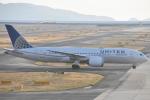 木のピー乃木坂46&DAPUMP好きさんが、関西国際空港で撮影したユナイテッド航空 787-8 Dreamlinerの航空フォト(写真)