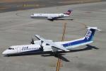 RAOUさんが、中部国際空港で撮影したANAウイングス DHC-8-402Q Dash 8の航空フォト(写真)