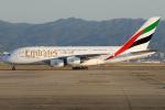 きんめいさんが、関西国際空港で撮影したエミレーツ航空 A380-861の航空フォト(写真)