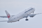 koumepapaさんが、旭川空港で撮影した日本航空 767-346/ERの航空フォト(写真)