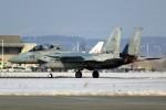 ばっきーさんが、千歳基地で撮影した航空自衛隊 F-15DJ Eagleの航空フォト(写真)