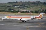 cornicheさんが、マドリード・バラハス国際空港で撮影したエア・ノーストラム CRJ-900の航空フォト(飛行機 写真・画像)