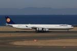 SIさんが、中部国際空港で撮影したルフトハンザドイツ航空 A340-642の航空フォト(飛行機 写真・画像)