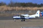 Amachan-photographさんが、花巻空港で撮影したアジア航測 208A Caravan 675の航空フォト(写真)