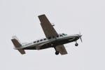sukiさんが、調布飛行場で撮影したアジア航測 208B Grand Caravanの航空フォト(写真)