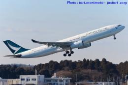 いおりさんが、成田国際空港で撮影したキャセイパシフィック航空 A330-342の航空フォト(写真)