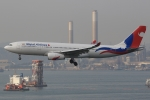 ぽんさんが、香港国際空港で撮影したネパール航空 A330-243の航空フォト(写真)