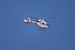 レドームさんが、羽田空港で撮影した朝日新聞社 MD 900/902の航空フォト(写真)