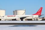セブンさんが、新千歳空港で撮影したイースター航空 737-86Nの航空フォト(飛行機 写真・画像)