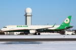 セブンさんが、新千歳空港で撮影したエバー航空 A321-211の航空フォト(写真)