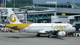 westtowerさんが、シンガポール・チャンギ国際空港で撮影したゴールデン・ミャンマー・エアラインズ A320-232の航空フォト(飛行機 写真・画像)