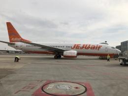 gratiii738さんが、成田国際空港で撮影したチェジュ航空 737-85Fの航空フォト(飛行機 写真・画像)