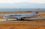 ハピネスさんが、関西国際空港で撮影した日本航空 787-8 Dreamlinerの航空フォト(飛行機 写真・画像)