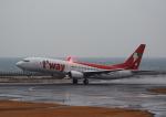 タミーさんが、大分空港で撮影したティーウェイ航空 737-8ASの航空フォト(写真)