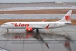 jun☆さんが、中部国際空港で撮影したタイ・ライオン・エア 737-9-MAXの航空フォト(写真)