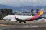プルシアンブルーさんが、仙台空港で撮影したアシアナ航空 A320-232の航空フォト(写真)