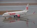 ukokkeiさんが、中部国際空港で撮影したタイ・ライオン・エア 737-9-MAXの航空フォト(写真)