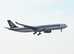 garrettさんが、台湾桃園国際空港で撮影したシンガポール航空 A330-343Xの航空フォト(飛行機 写真・画像)