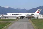 プルシアンブルーさんが、山形空港で撮影したジェイ・エア CL-600-2B19 Regional Jet CRJ-200ERの航空フォト(写真)