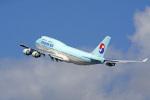 tkosadaさんが、羽田空港で撮影した大韓航空 747-4B5の航空フォト(写真)