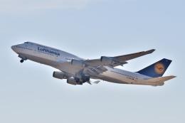 @たかひろさんが、関西国際空港で撮影したルフトハンザドイツ航空 747-430の航空フォト(飛行機 写真・画像)