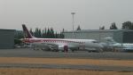 びえんとさんが、ポートランド国際空港で撮影した三菱航空機 MRJ90STDの航空フォト(写真)
