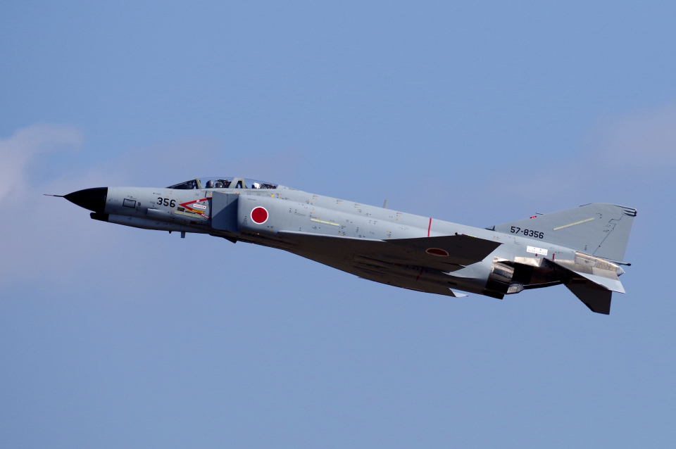 yabyanさんの航空自衛隊 Mitsubishi F-4EJ Kai Phantom II (57-8356) 航空フォト