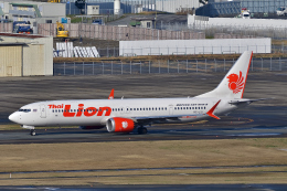 HISAHIさんが、福岡空港で撮影したタイ・ライオン・エア 737-9-MAXの航空フォト(飛行機 写真・画像)