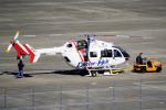 yabyanさんが、名古屋飛行場で撮影した朝日航洋 BK117C-2の航空フォト(写真)