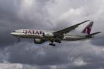 LAX Spotterさんが、ロサンゼルス国際空港で撮影したカタール航空カーゴ 777-FDZの航空フォト(写真)