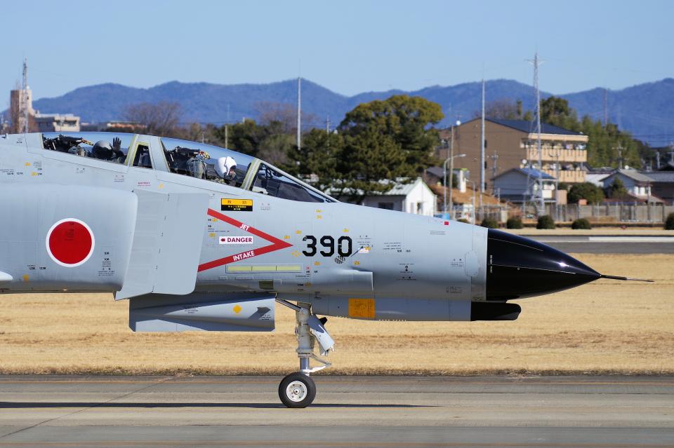 yabyanさんの航空自衛隊 Mitsubishi F-4EJ Kai Phantom II (67-8390) 航空フォト