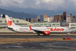 SGHGさんが、福岡空港で撮影したタイ・ライオン・エア 737-9-MAXの航空フォト(飛行機 写真・画像)