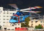 LOTUSさんが、八尾空港で撮影した大阪府警察 AW139の航空フォト(写真)