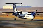 hidetsuguさんが、新千歳空港で撮影したオーロラ DHC-8-201Q Dash 8の航空フォト(写真)