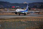 蒼い鳩さんが、富山空港で撮影した全日空 737-881の航空フォト(写真)