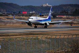 蒼い鳩さんが、富山空港で撮影した全日空 737-881の航空フォト(飛行機 写真・画像)