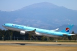Kuuさんが、鹿児島空港で撮影した大韓航空 A330-322の航空フォト(飛行機 写真・画像)