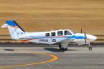 Kuuさんが、鹿児島空港で撮影した崇城大学 G58 Baronの航空フォト(飛行機 写真・画像)