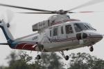 eokiiiiさんが、群馬ヘリポートで撮影した山梨県防災航空隊 S-76Bの航空フォト(写真)
