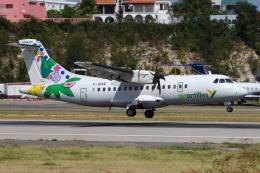 zettaishinさんが、プリンセス・ジュリアナ国際空港で撮影したエア・アンティル・エクスプレス ATR-42-500の航空フォト(飛行機 写真・画像)