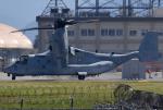 れんしさんが、岩国空港で撮影したアメリカ海兵隊 MV-22Bの航空フォト(写真)