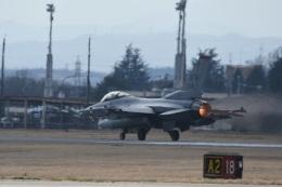 382kossyさんが、横田基地で撮影したアメリカ空軍 F-16CM-50-CF Fighting Falconの航空フォト(飛行機 写真・画像)