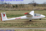 Chofu Spotter Ariaさんが、妻沼滑空場で撮影した日本個人所有 ASK 23Bの航空フォト(飛行機 写真・画像)