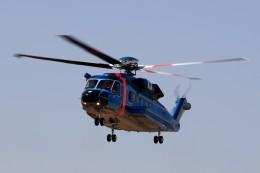 kaeru6006さんが、東京ヘリポートで撮影した警視庁 S-92Aの航空フォト(飛行機 写真・画像)