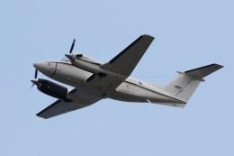 camelliaさんが、岩国空港で撮影したアメリカ海軍 UC-12F Super King Air (B200C)の航空フォト(写真)
