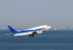 ハム太郎。さんが、羽田空港で撮影したユニカル・アヴィエーション 737-54Kの航空フォト(写真)
