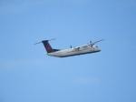 SKY☆MOTOさんが、シアトル タコマ国際空港で撮影したジャズ・エア DHC-8-402Q Dash 8の航空フォト(写真)